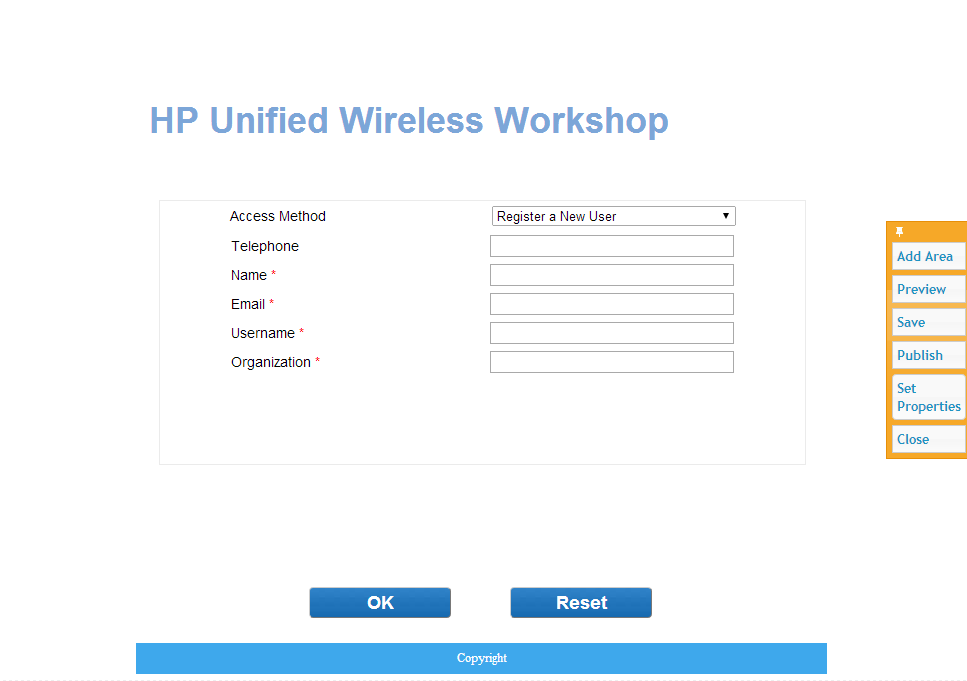 iMC UAM Modify BYOD Page