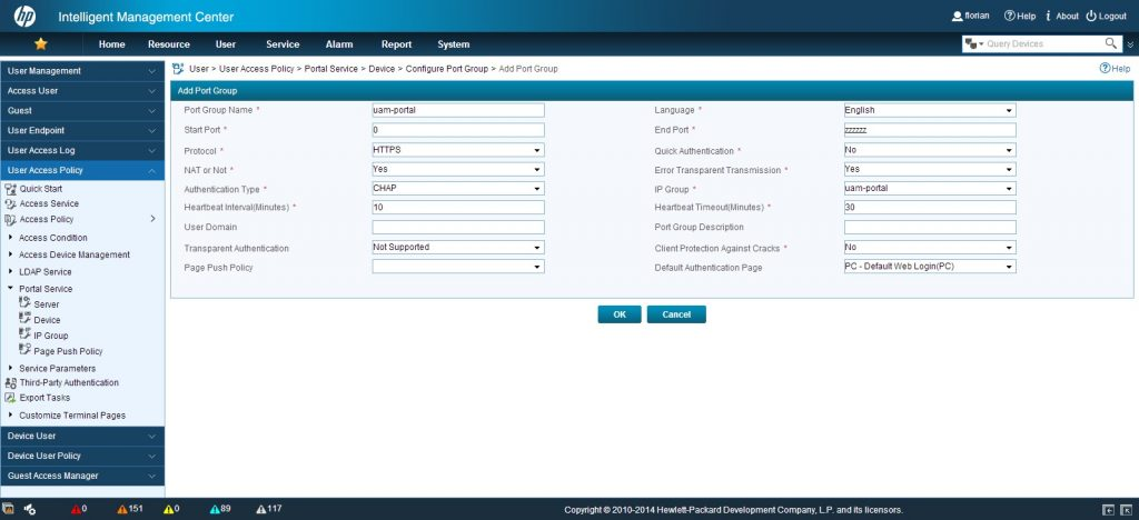 UAM-portal-add-IP-group-page