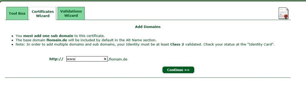 StartSSL-Create-Certificate-Sub-Domain