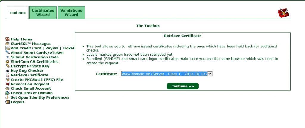 StartSSL-Retrieve-Certificate