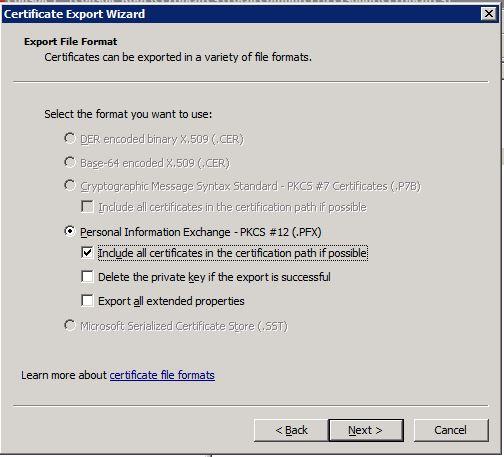 MMC-Export-Certificate-Chain
