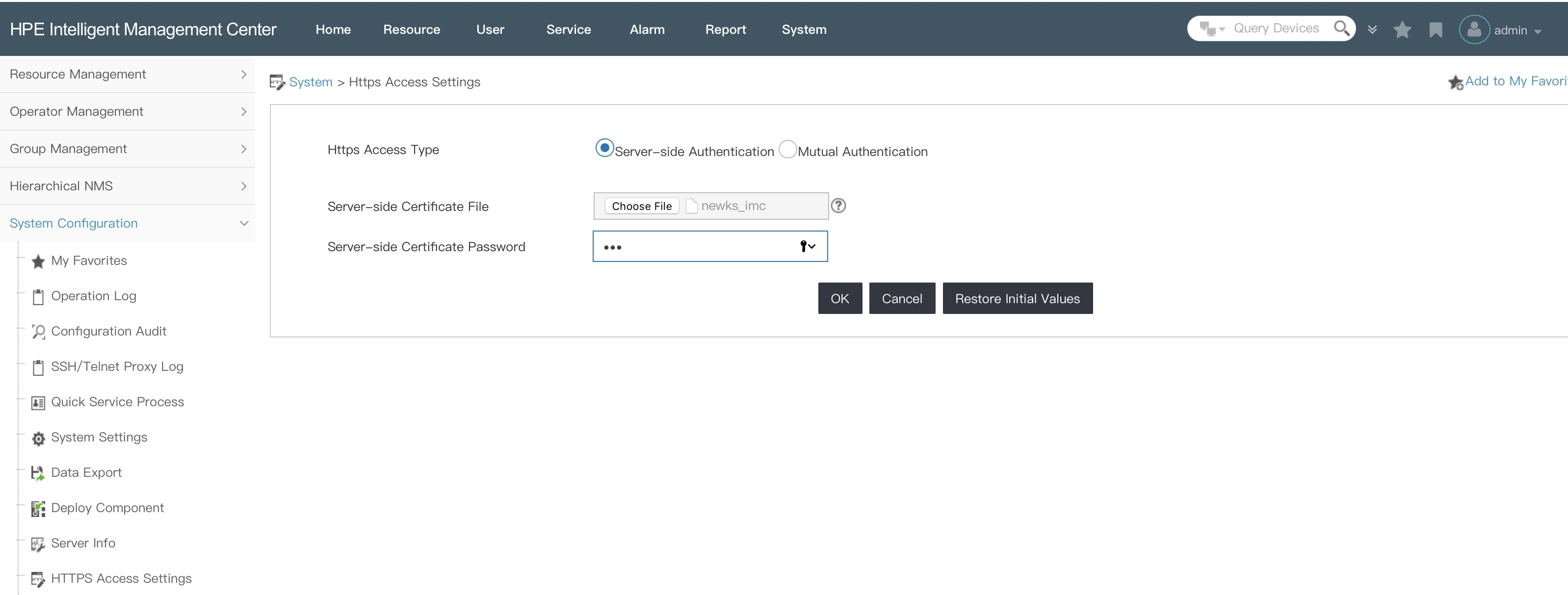 How To Imc Webserver Certificate Flomain Networking