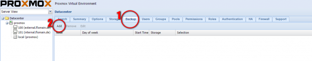 How To: Proxmox Live Backup