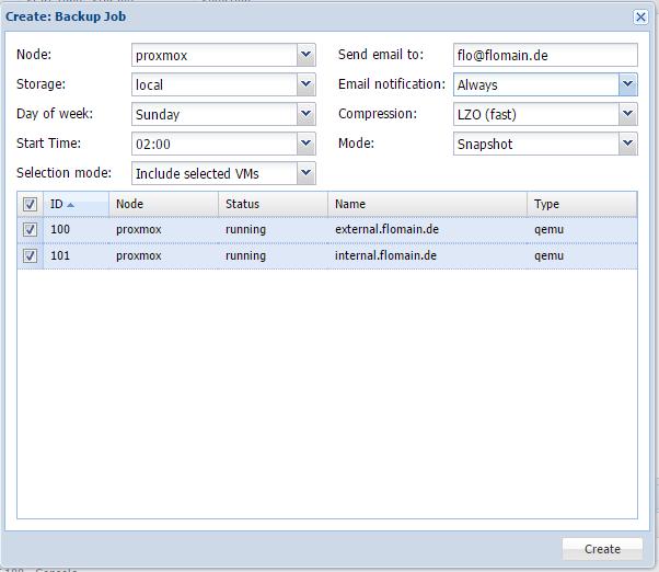 Proxmox-Live-Backup-Create-New-Job