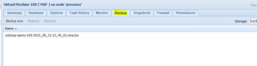 Restore-Proxmox-Live-Backup