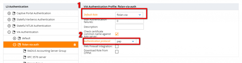 Configure-VIA-Authentication-Profile