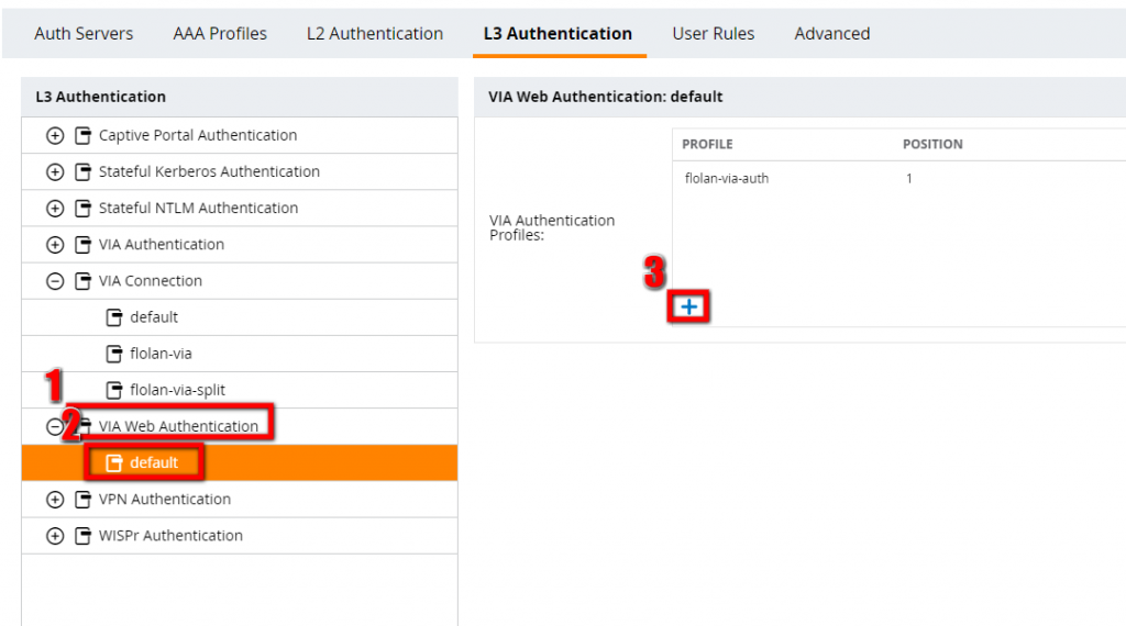 Configure-the-VIA-Web-Authentication-Profile