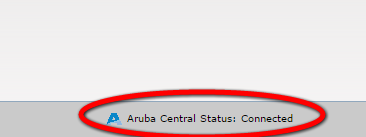 Aruba Central Provisioning Connected Instant AP