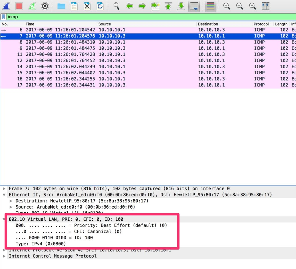 Change the Management VLAN - Ping To the IAP Tagged