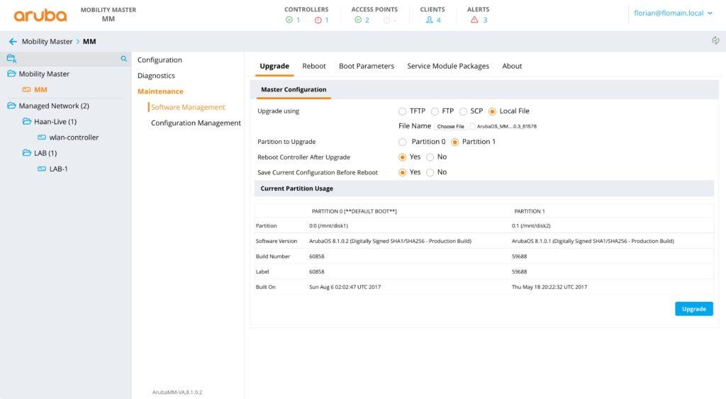 Firmware Update - VMM