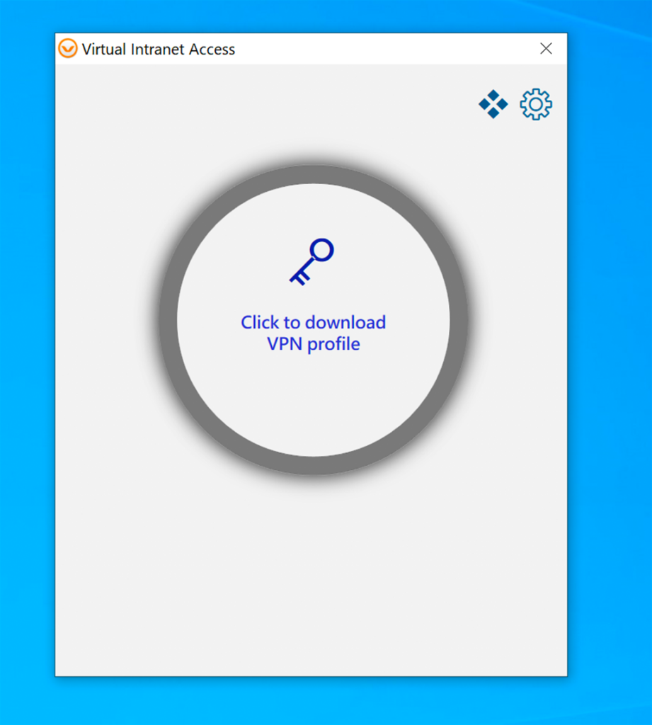 Aruba VIA VPN - Click to Download VPN Profile